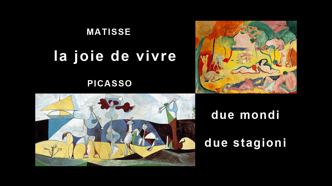polo nord polo Sud Matisse e Picasso